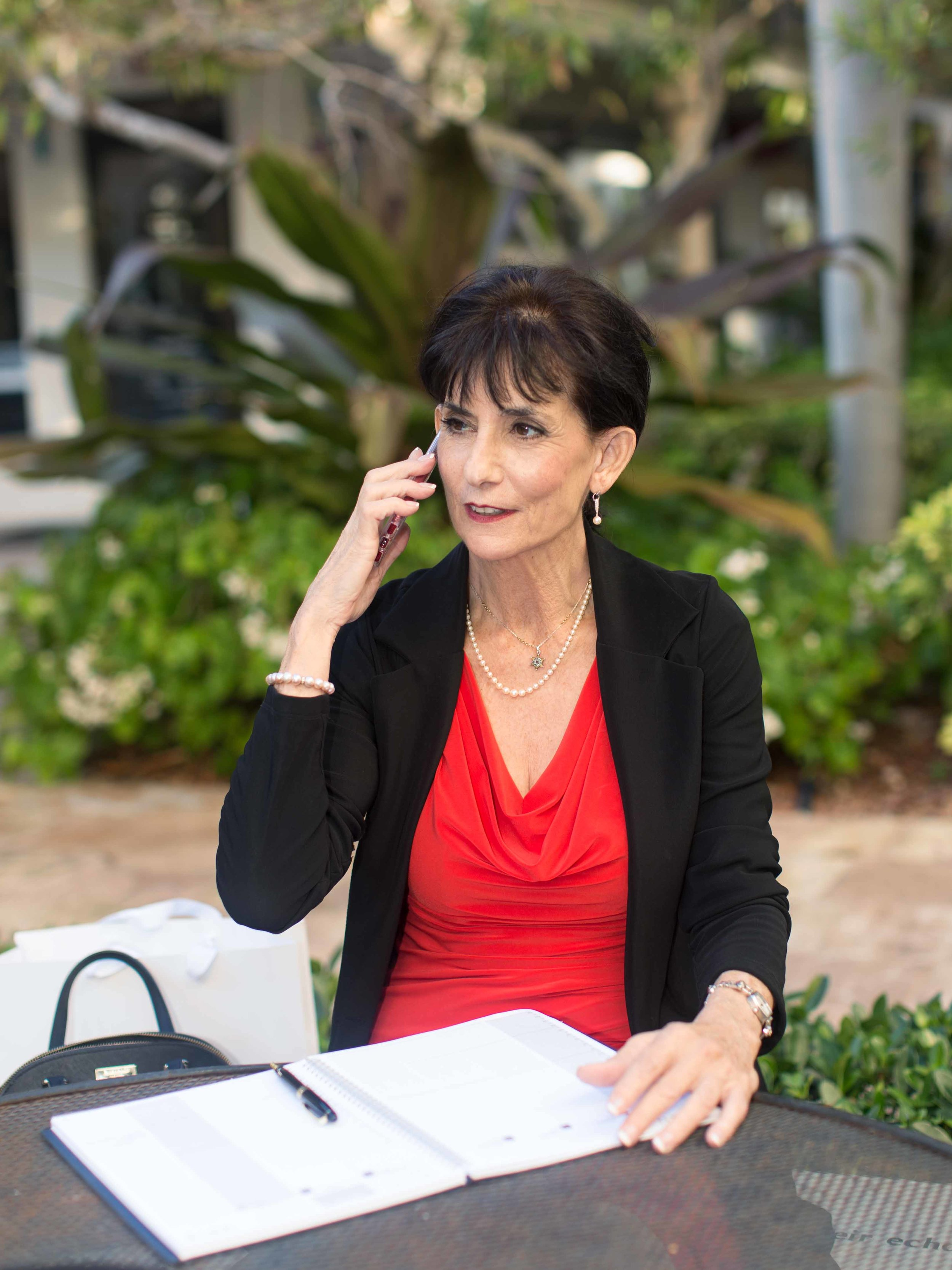 personal-branding-photography-realtor-red-dress-black-blazer-fort-lauderdale-south-florida