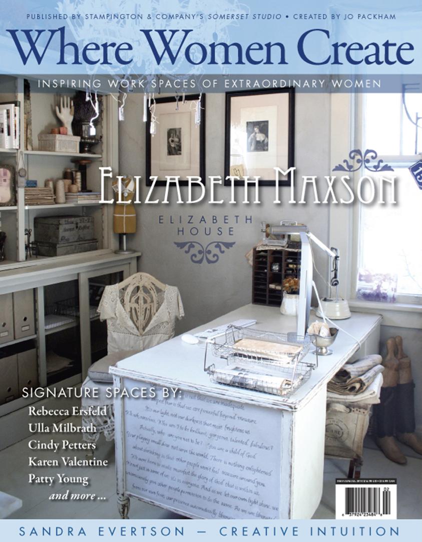Summer 2010, Where Women Create Magazine