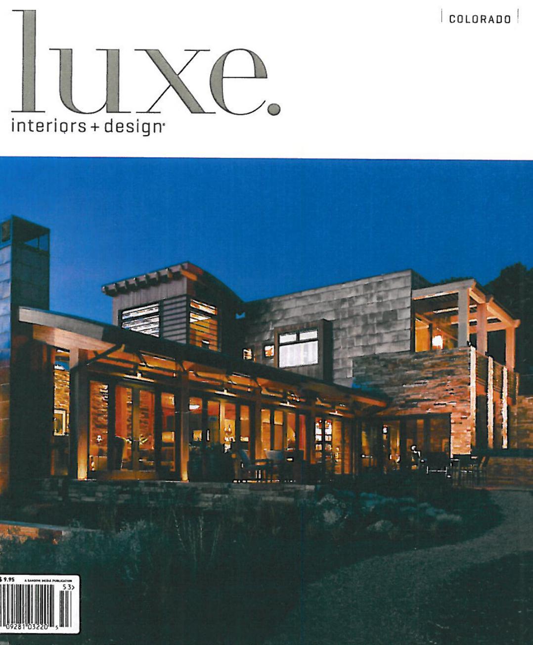Summer 2010, LUXE magazine