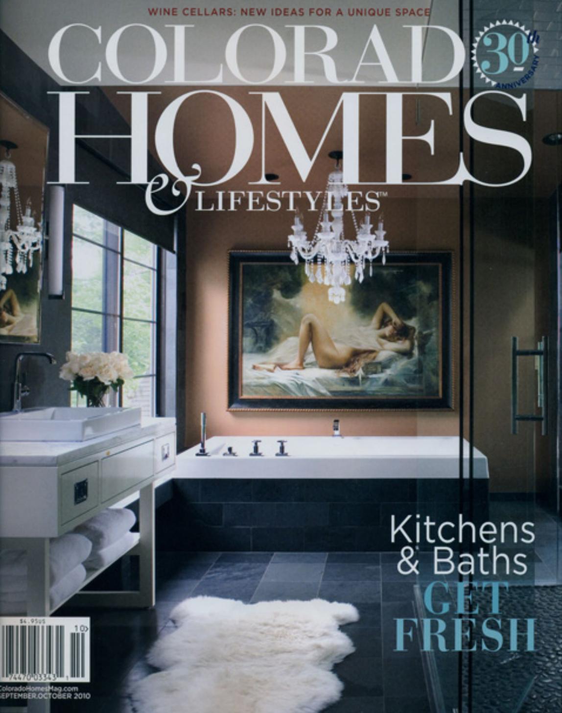 Septr/Oct 2010, Colorado Homes & Lifestyles