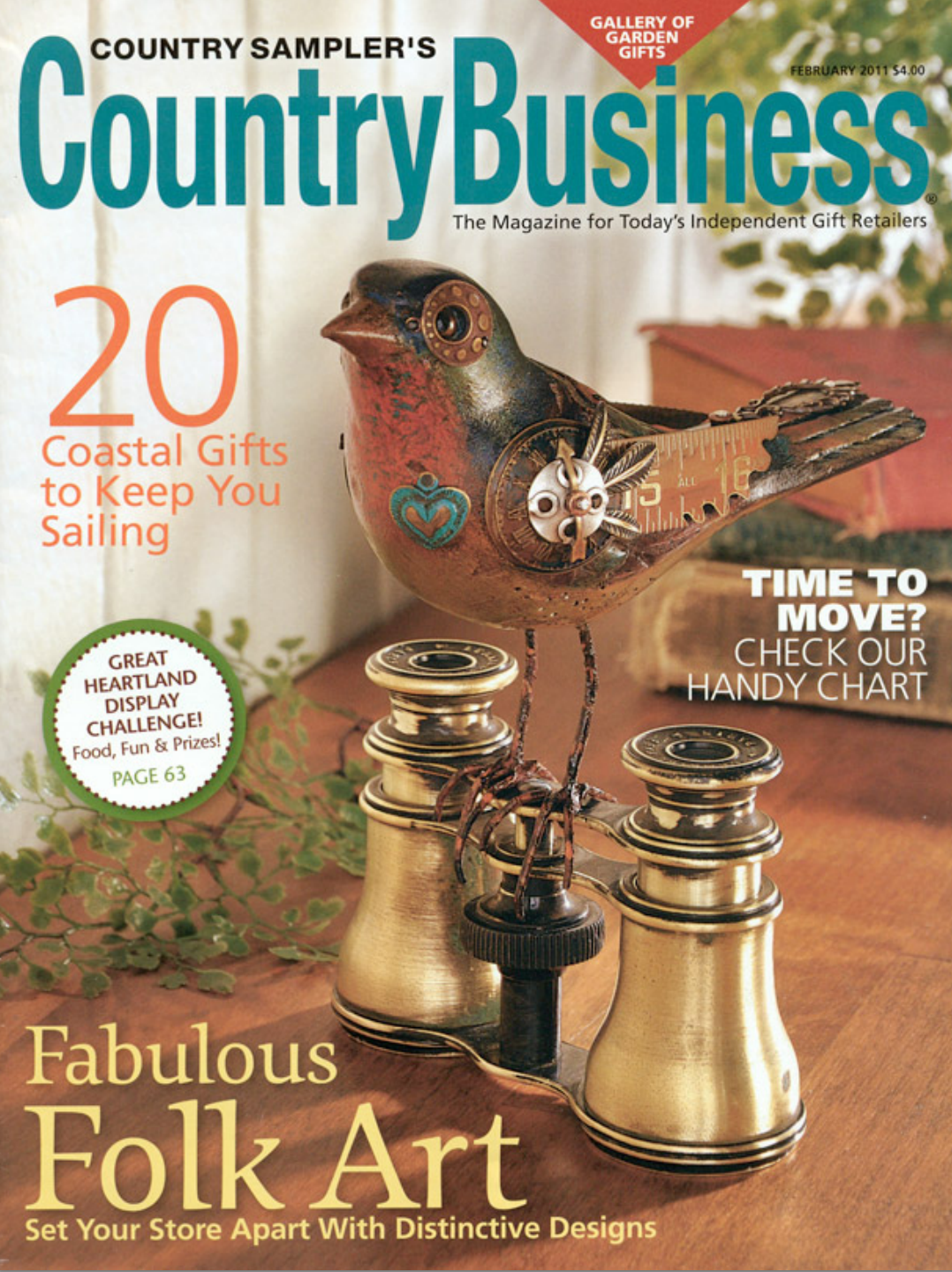 February 2011, Country Business