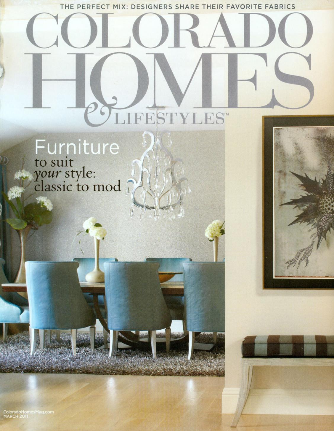 March 2011, Colorado Homes & Lifestyles