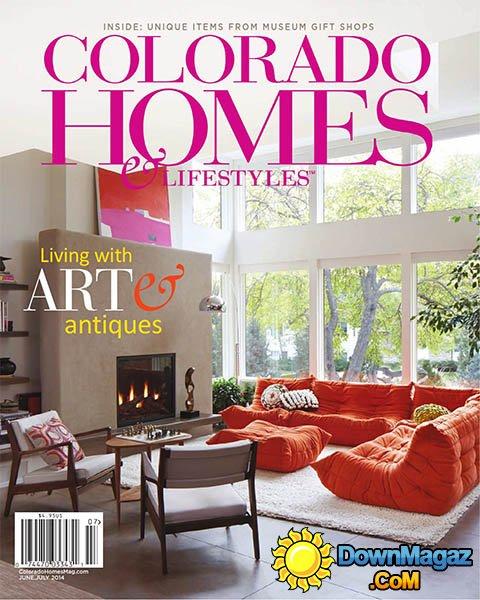 June/July 2014, Colorado Homes & Lifestyles