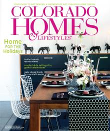 Holly's home featured in the November 2014 issue of Colorado Homes & Lifestyles