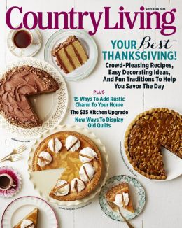 Old Glory TEXAS, November 2014 issue of Country Living