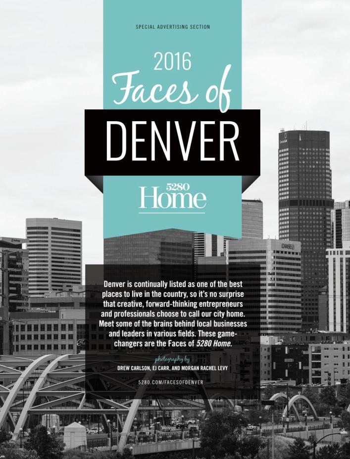 2016 Faces of Denver, 5280 Home