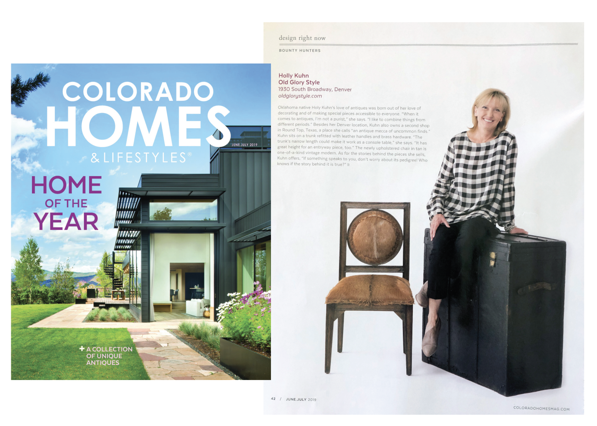 COLORADO HOMES & LIFESTYLES, June/July 2019: Bounty Hunters Feature