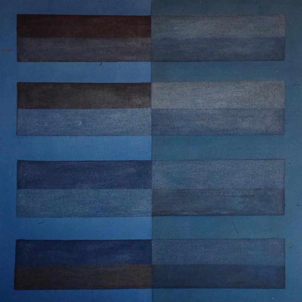 Sam Fryer,  Blue Sectional