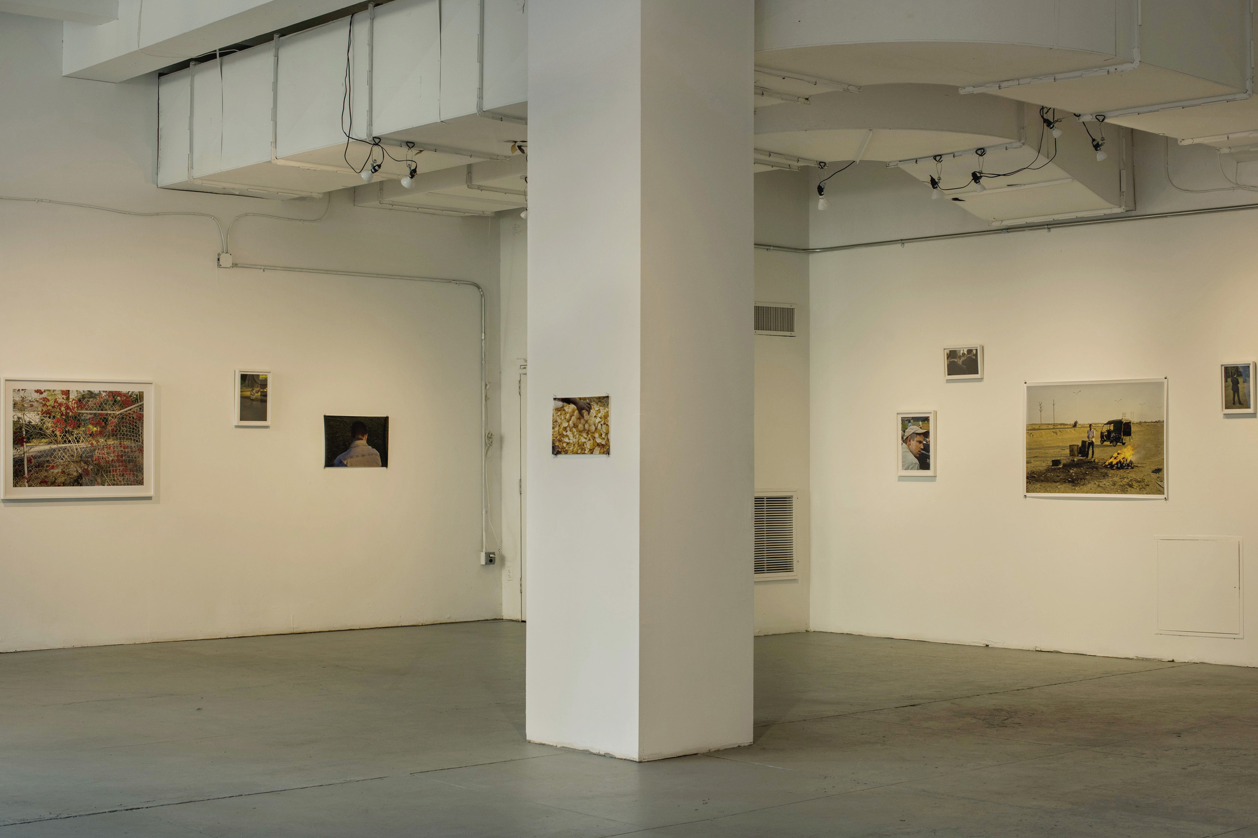 Louis Heilbronn Installation View:  Sunset Perfect  A+E Studios, NY 2016