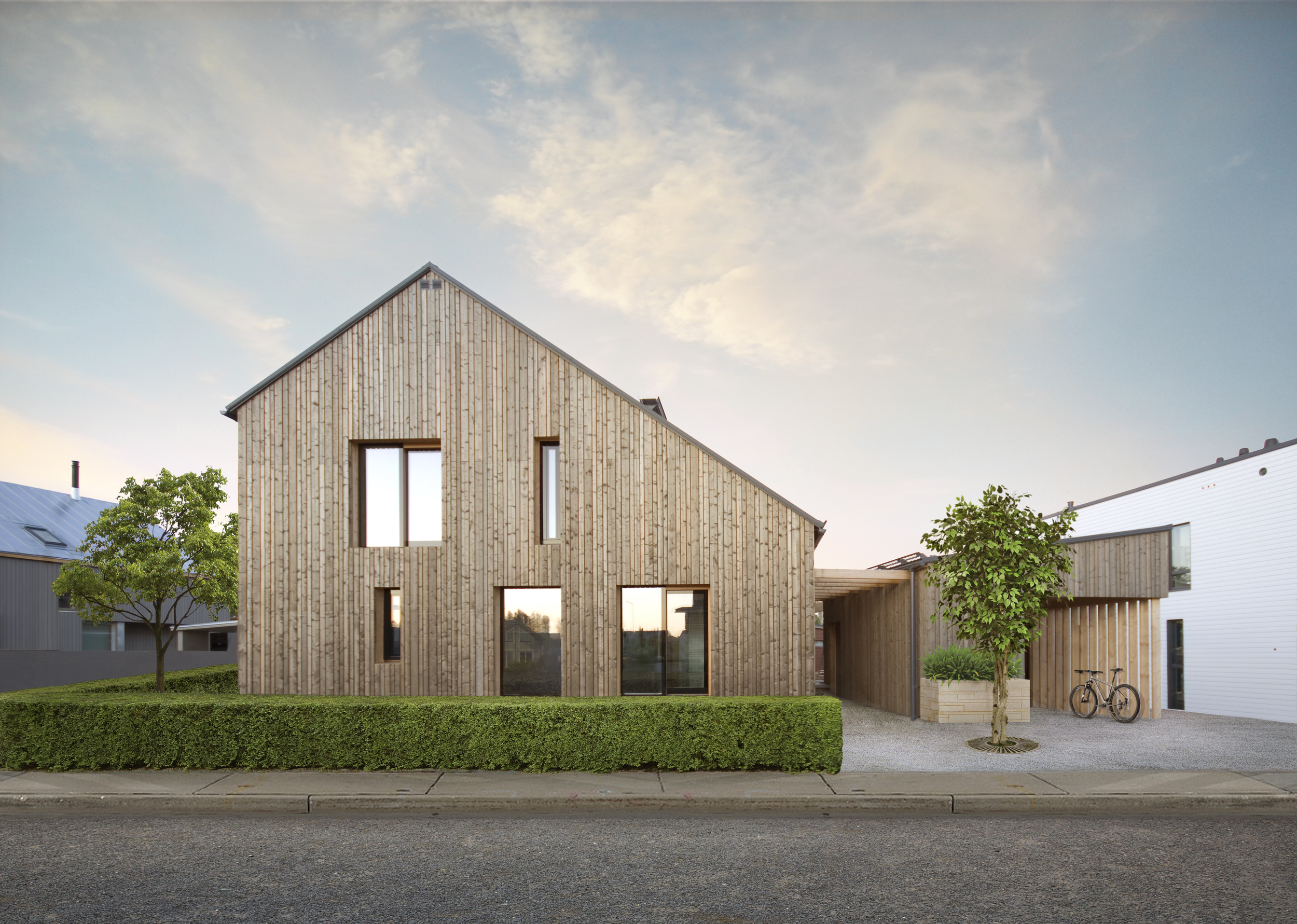 Дом Honka на выставке в Финляндии