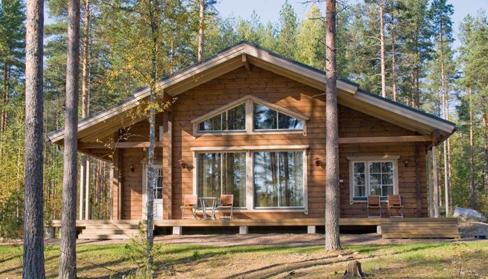 Дом Honka в Финляндии