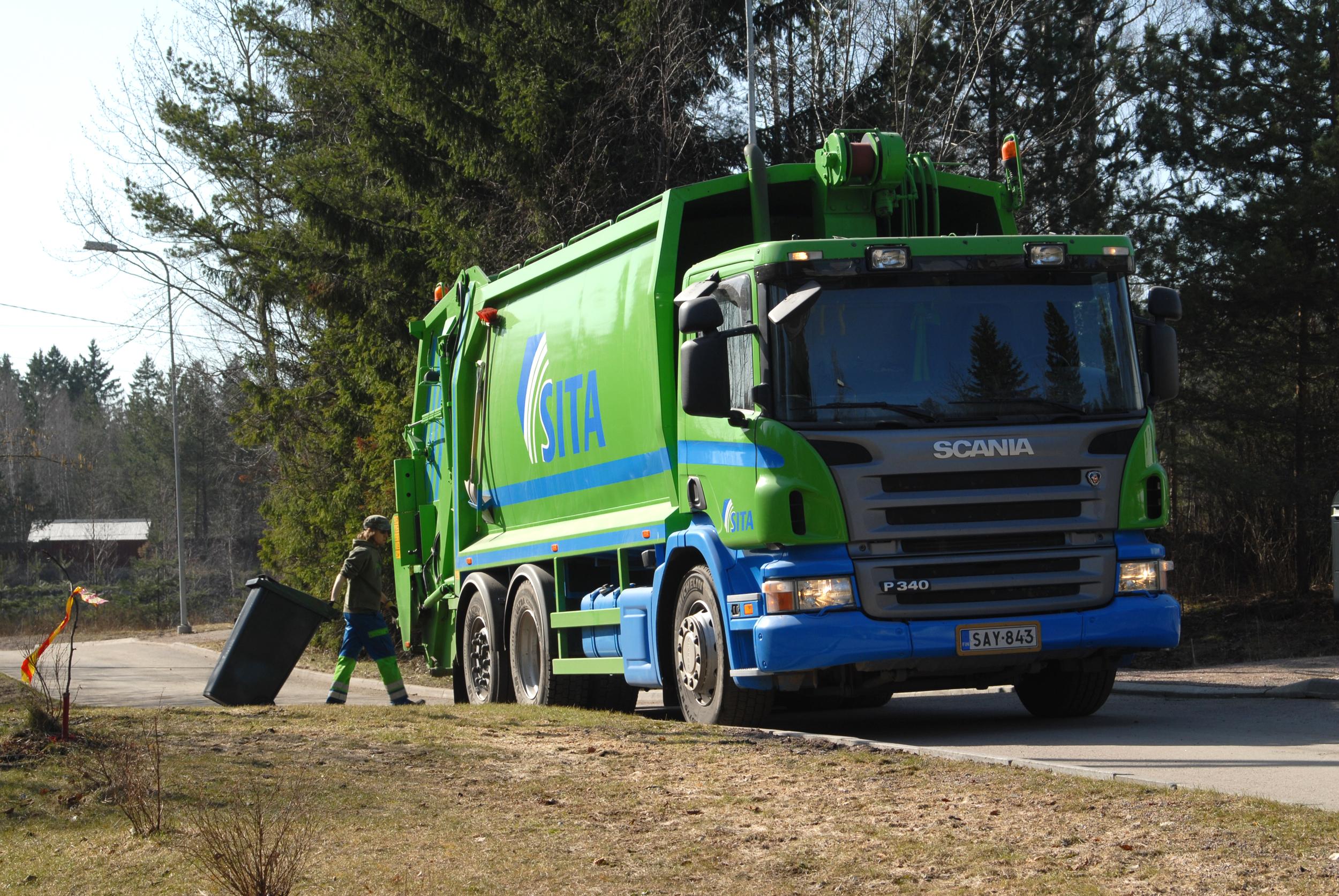 Вывоз мусора. Недвижимость в Финляндии
