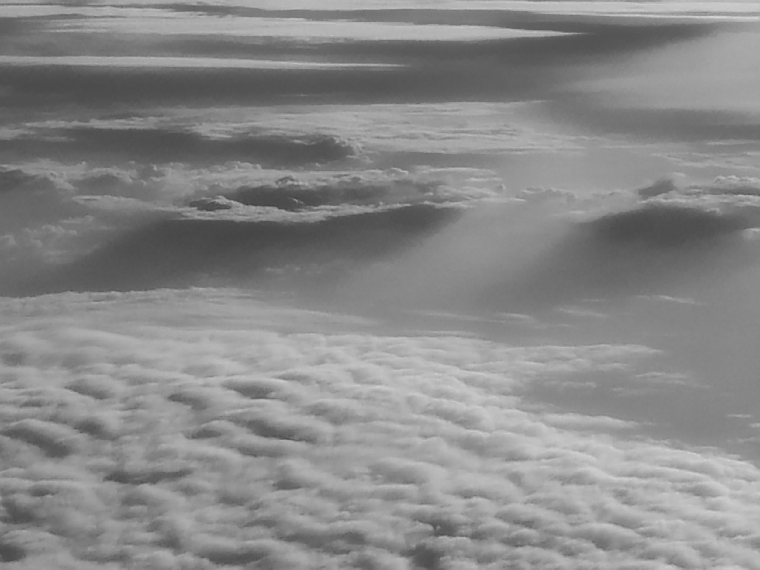 Above the clouds by Amy Kanka Valadarsky