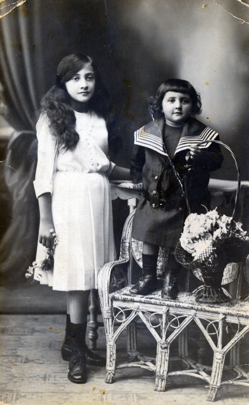 Liza and Fanny, Amy Kanka Valadarsky grandmother