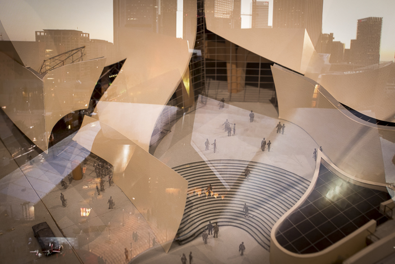 Disney Hall in LA - an integrative view