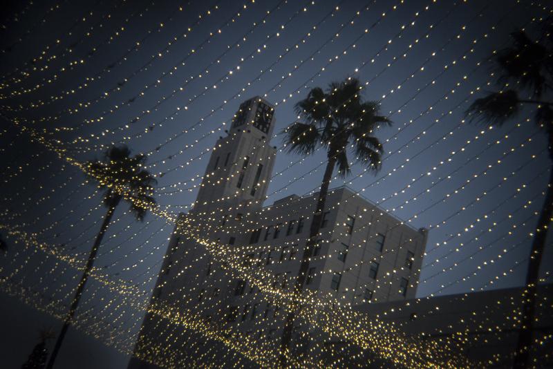 The holidays. Santa Monica, December 2015