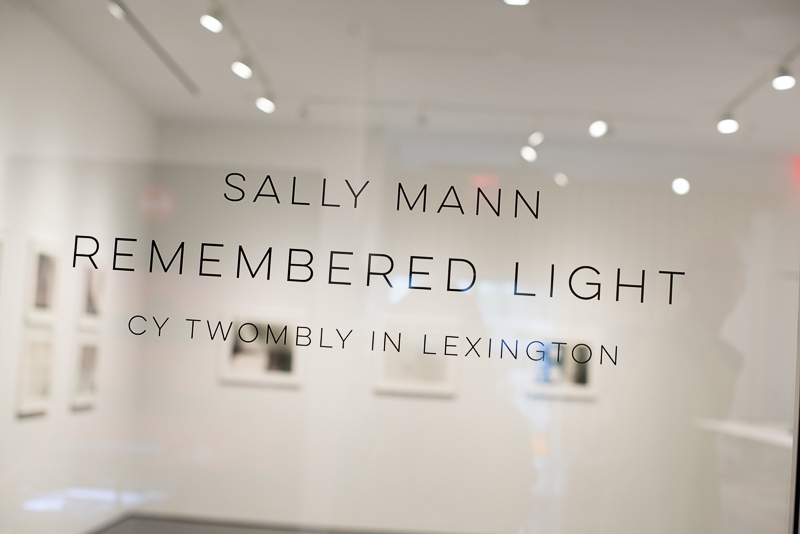 sally Mann exhibition photo by amy kanka