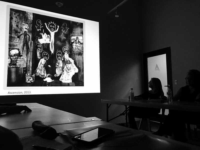 Listening to Roger Ballen talking about his work