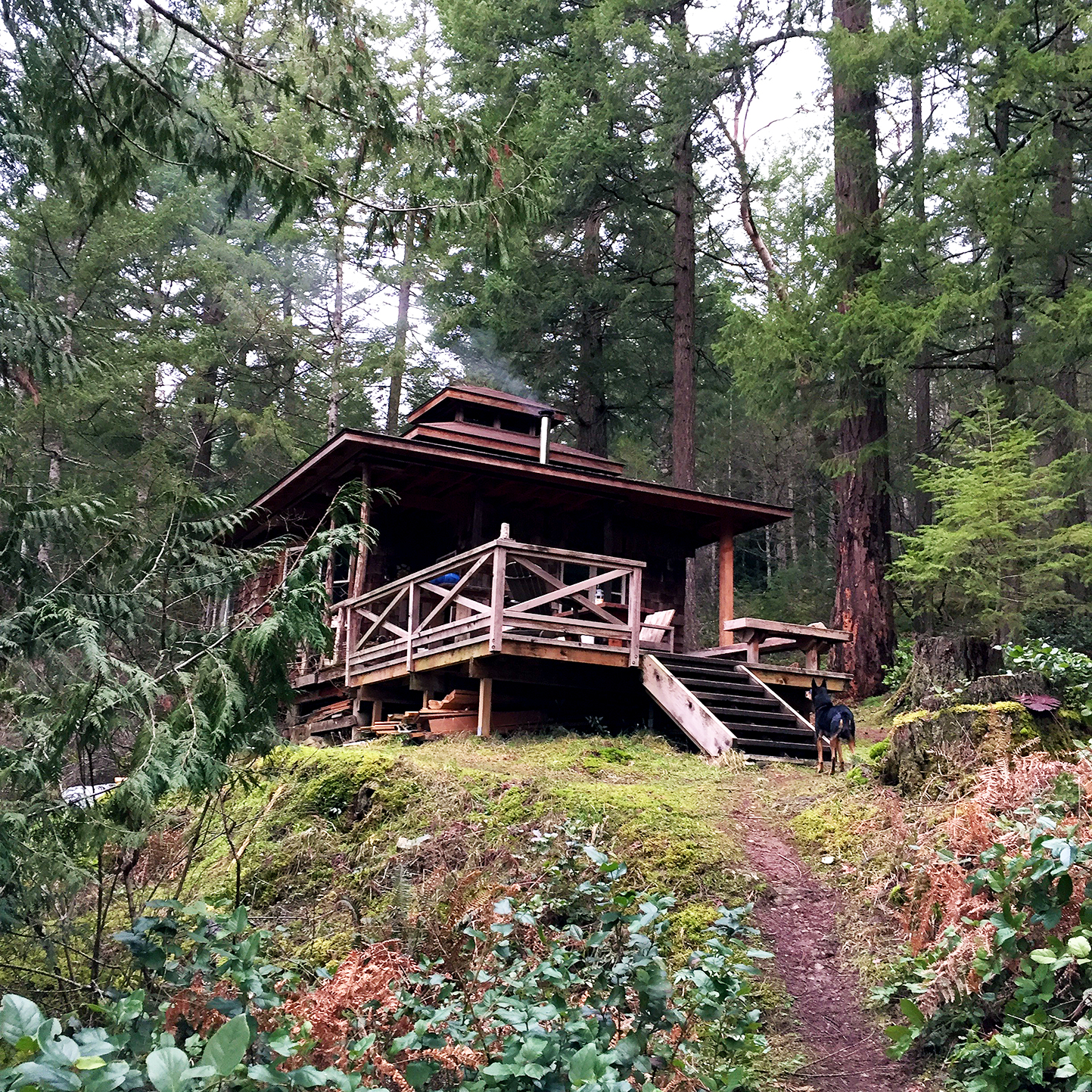 """When the property was originally purchased by a friend's family 35 years ago, the """"Cabin"""", as it is so aptly named, was just a simple one room logger's cabin. But over the years it has grown with the family into this perfect three story hideaway."""
