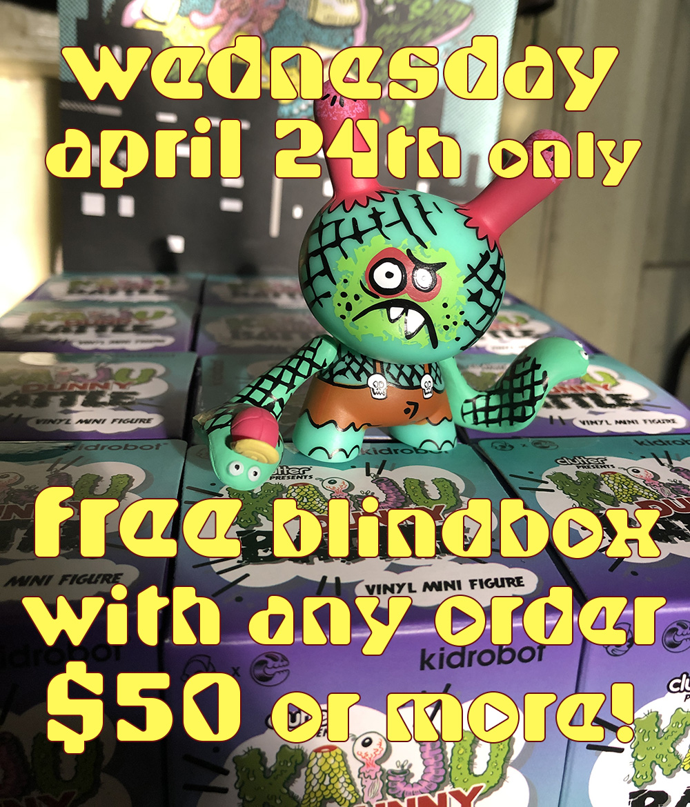 It's blind. It's free. It's today only. This is for the whole series, not just the Bwana Cobraboy. Enjoy.