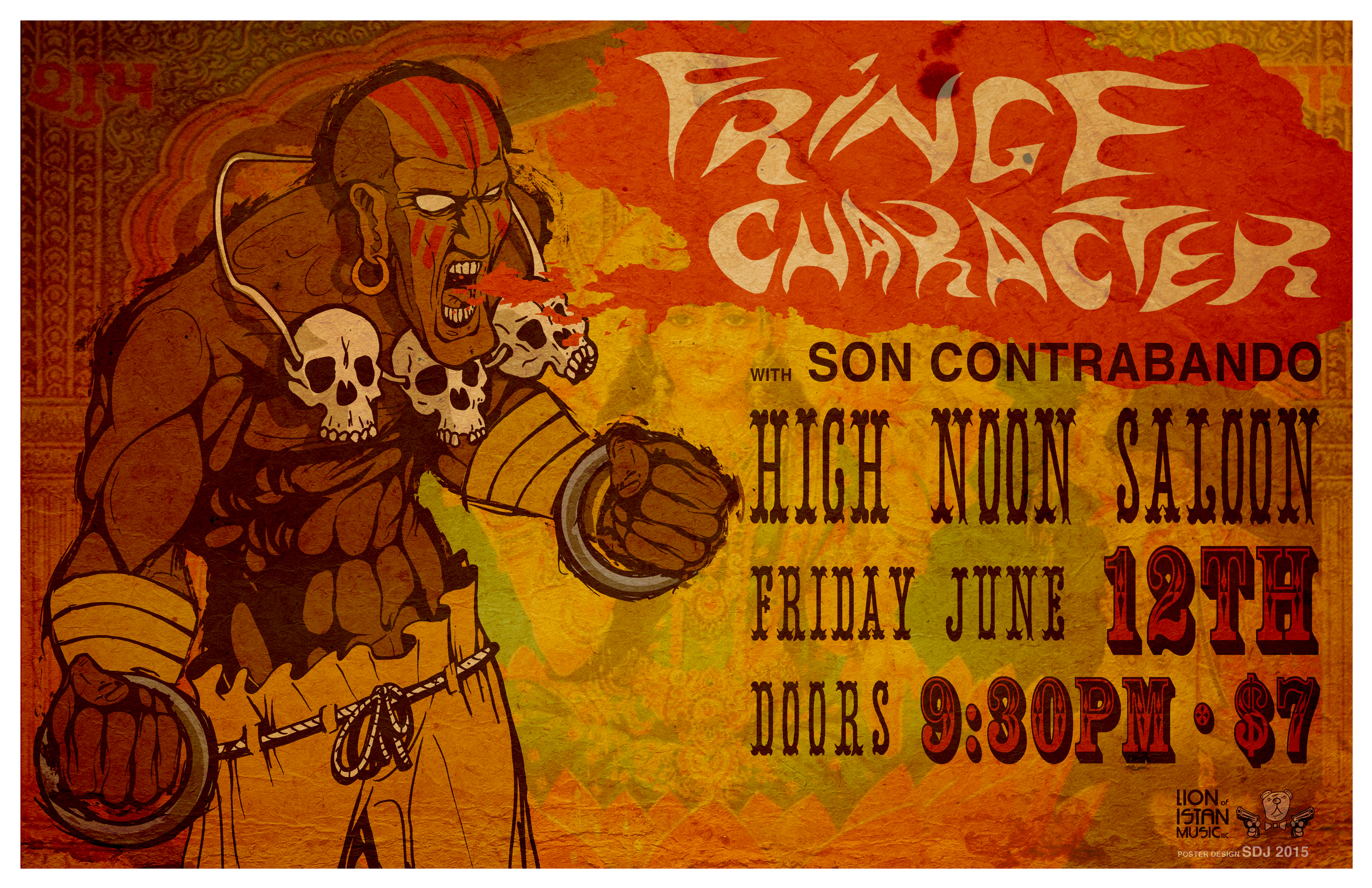 Fringe Character | Son Contrabado @ High Noon Saloon, June 12th 2015