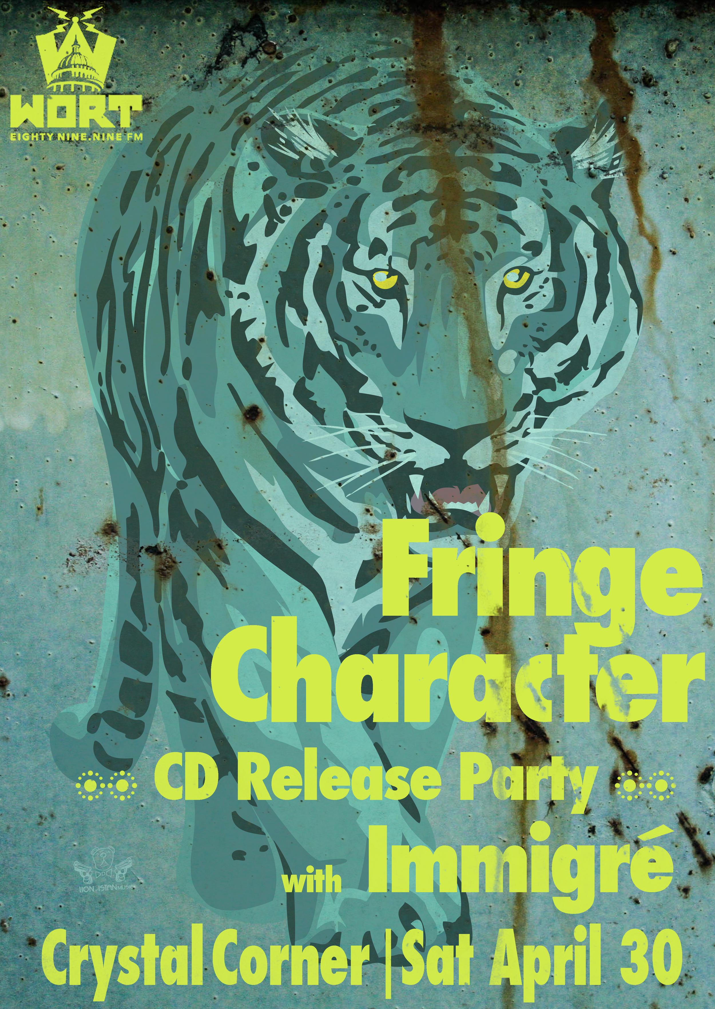 Fringe Character | Immigré @ Crystal Corner