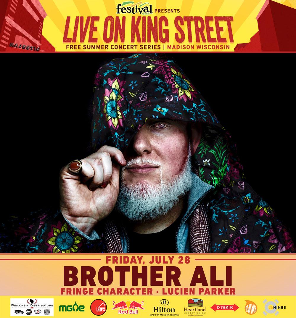 Brother Ali | Fringe Character | Lucien Parker