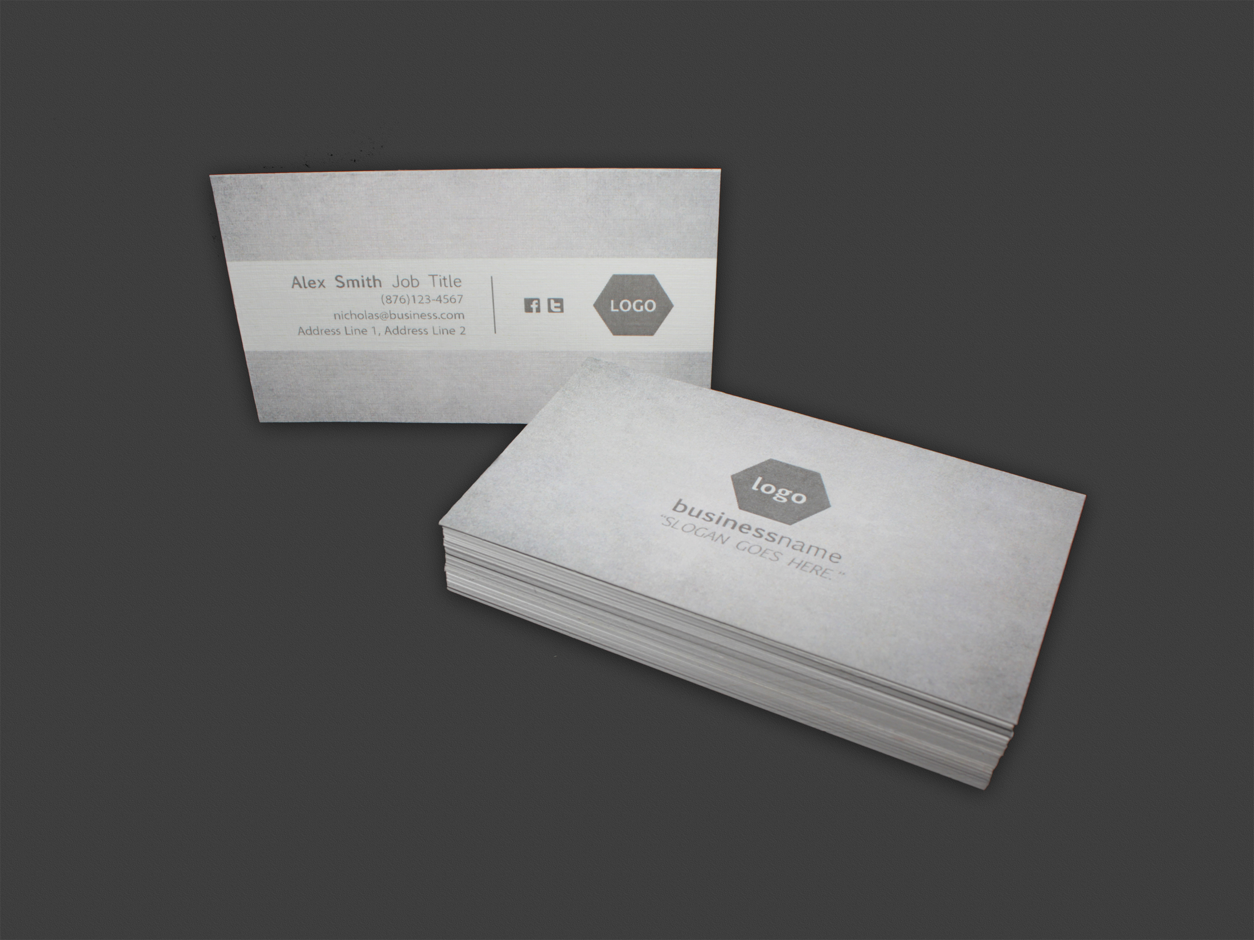 """Double Sided Business Card 