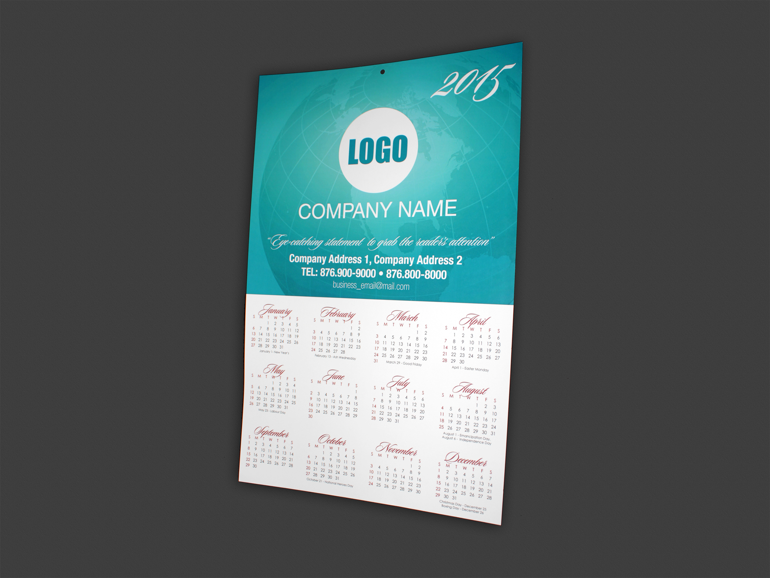 """Calendar 