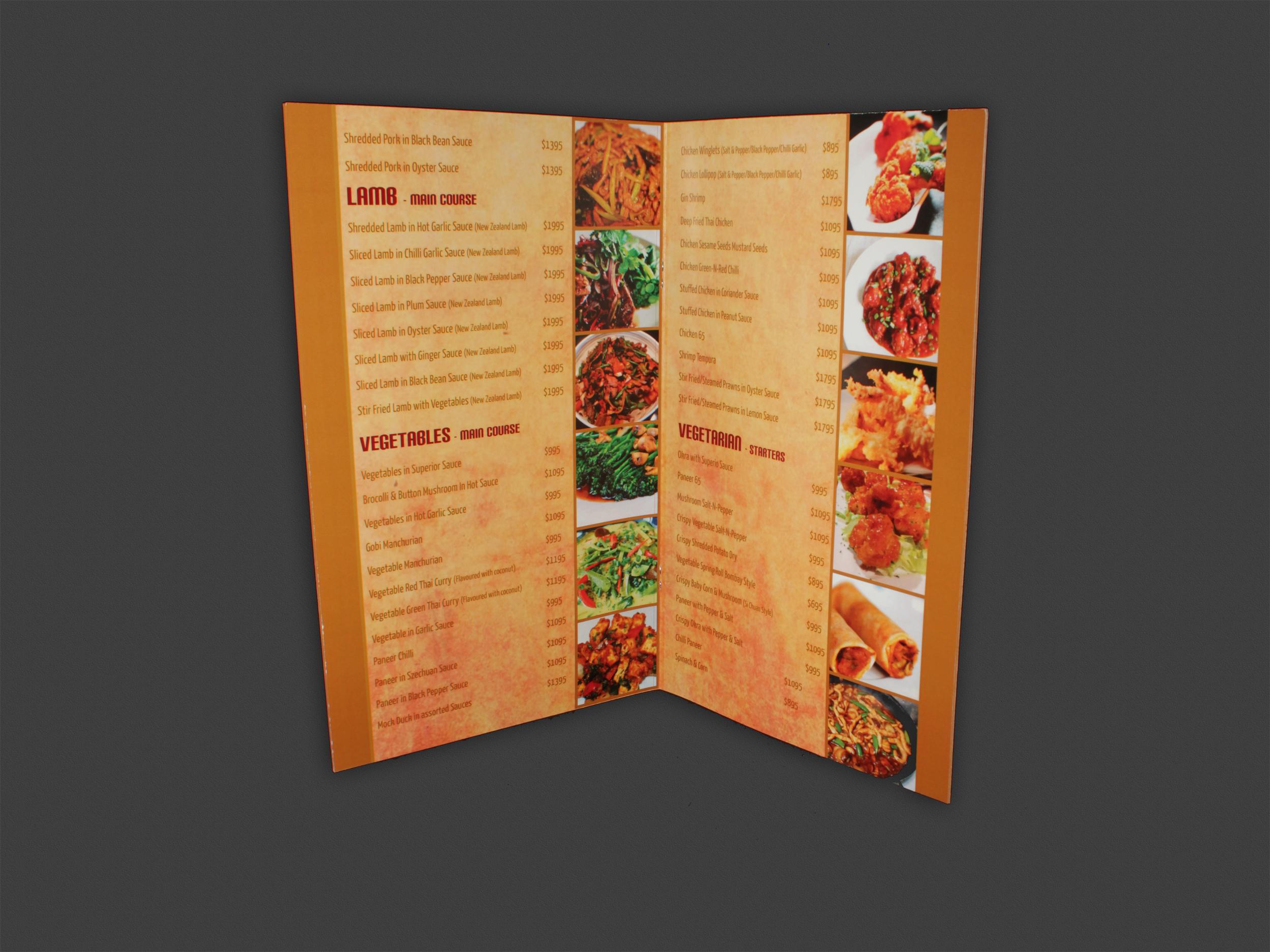 Menu | Saffron Indian Cuisine (open)