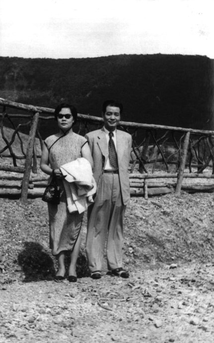 My grandmother Lei Weiyin (雷维音) and grandfather Sima Wensen (司马文森) in Indonesia, during the early 1950s.