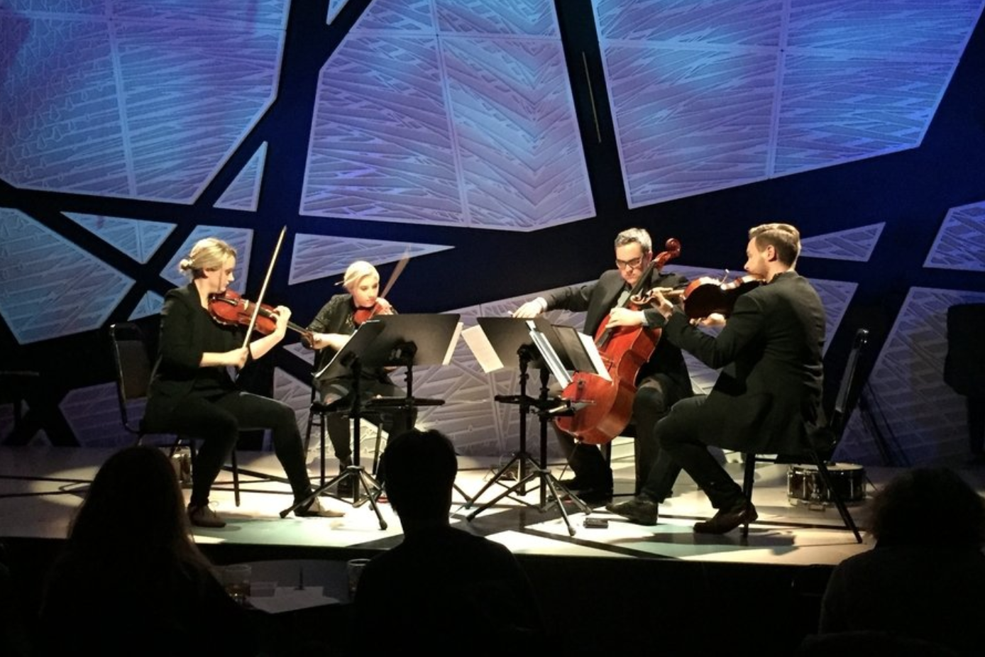 Spetkral Quartet @ National Sawdust, April 2017. Photo by Steve Smith.