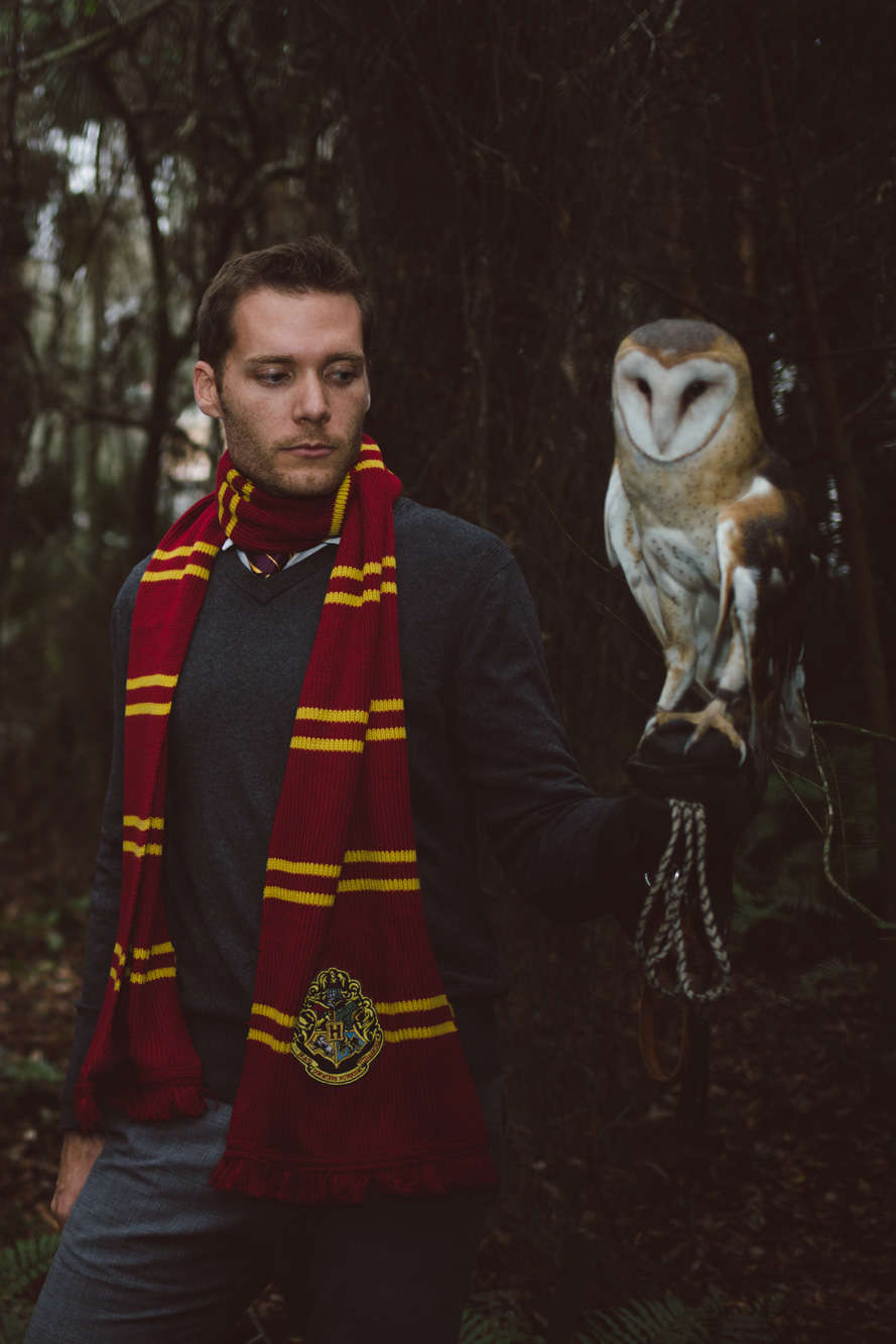 Harry Potter Engagement Session
