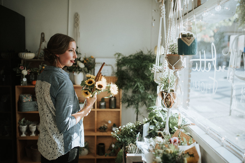 My favourite floral shop in downtown Abby - Confetti Floral.