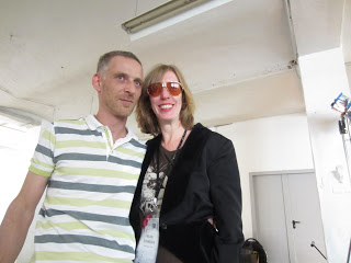 (Pictured above, Helen with Word on Sound guest speaker, Cyril Martin)