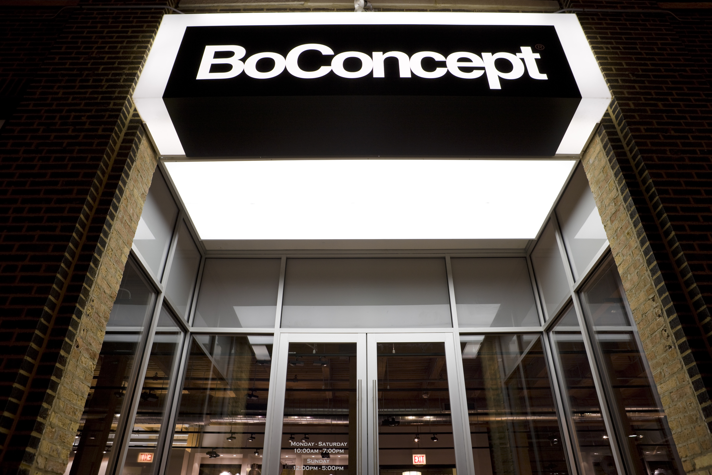 BOCONCEPT, CHICAGO FLAGSHIP RETAIL STORE