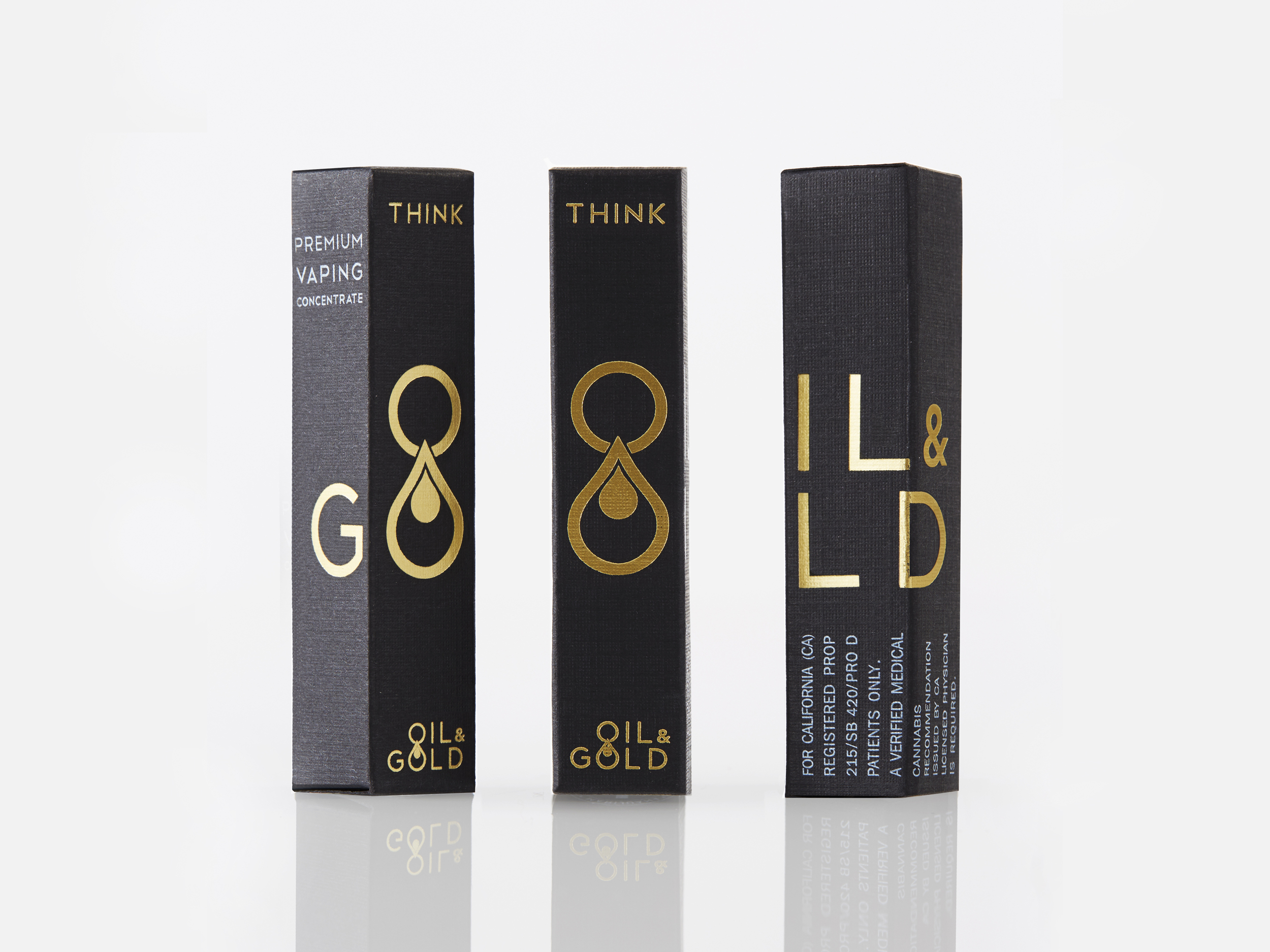 OIL & GOLD PACKAGING