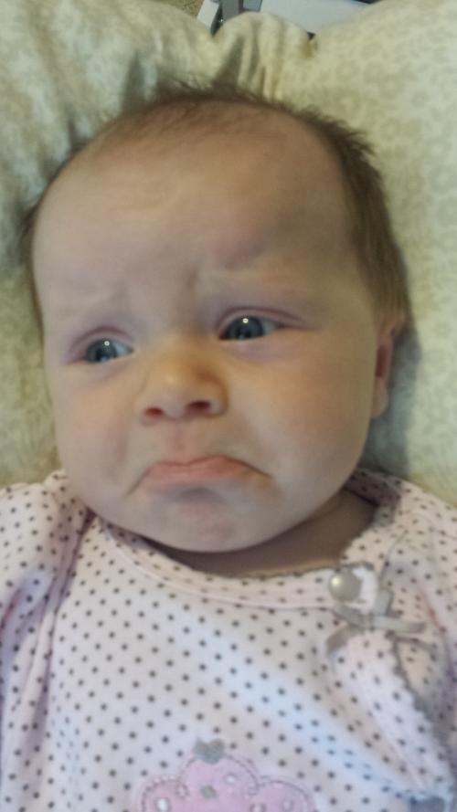 Epic pouty face