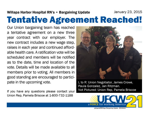 Willapa harbor hospital bargaining update 2015 0123