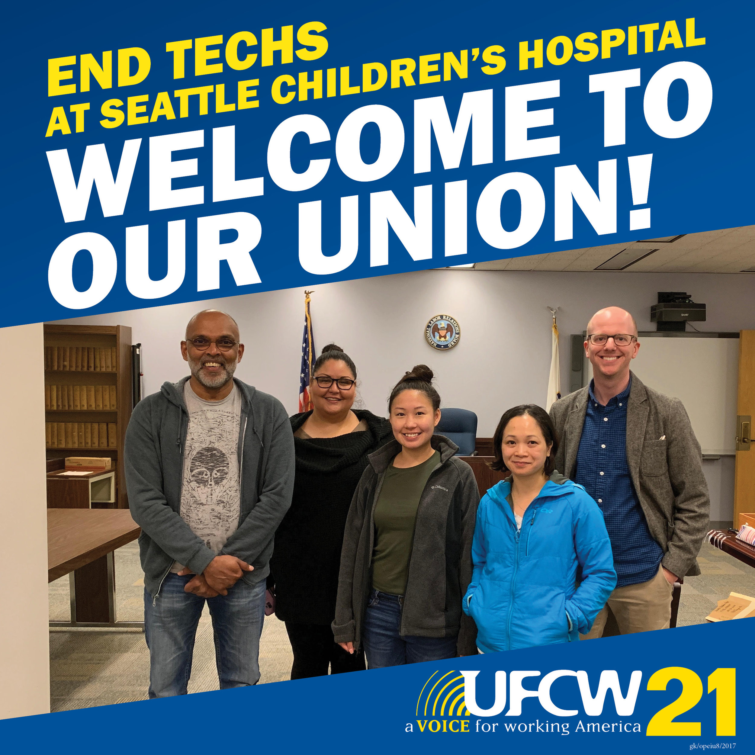Welcome to our union social media card END Techs at Seattle Childrens Hospital .jpg