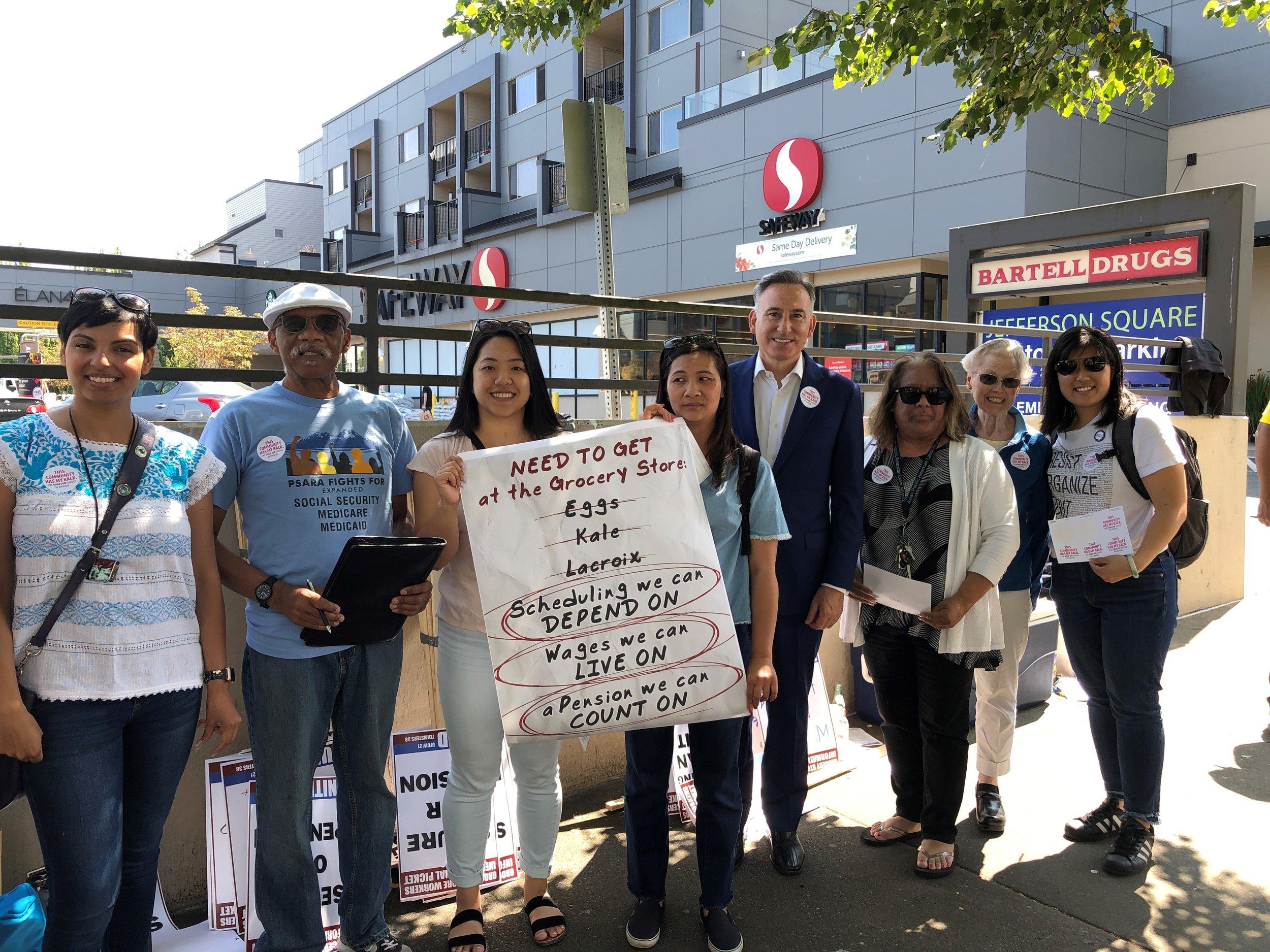 West Seattle Safeway Community Delegation group photo.jpg