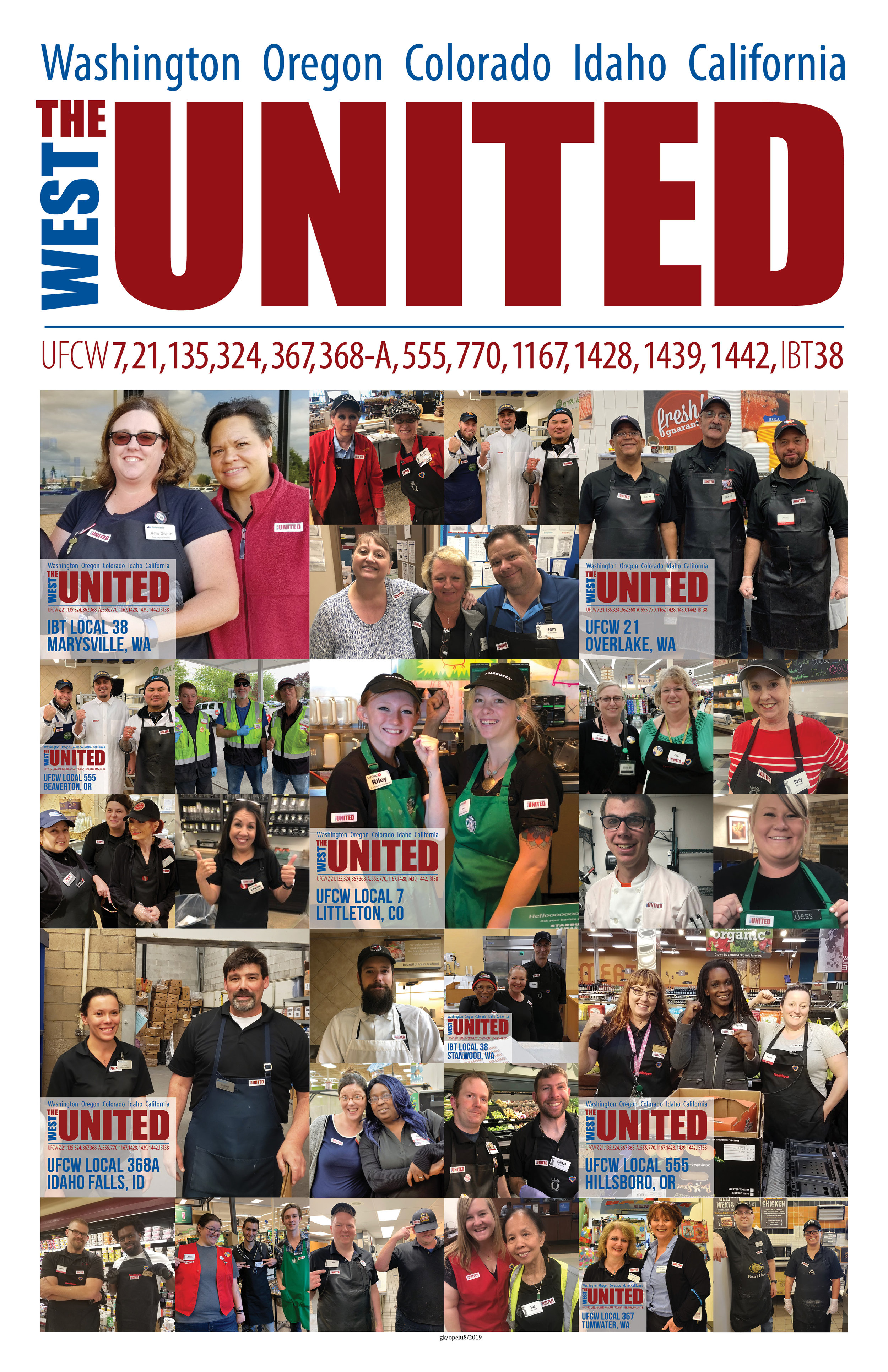 2019 The West United poster