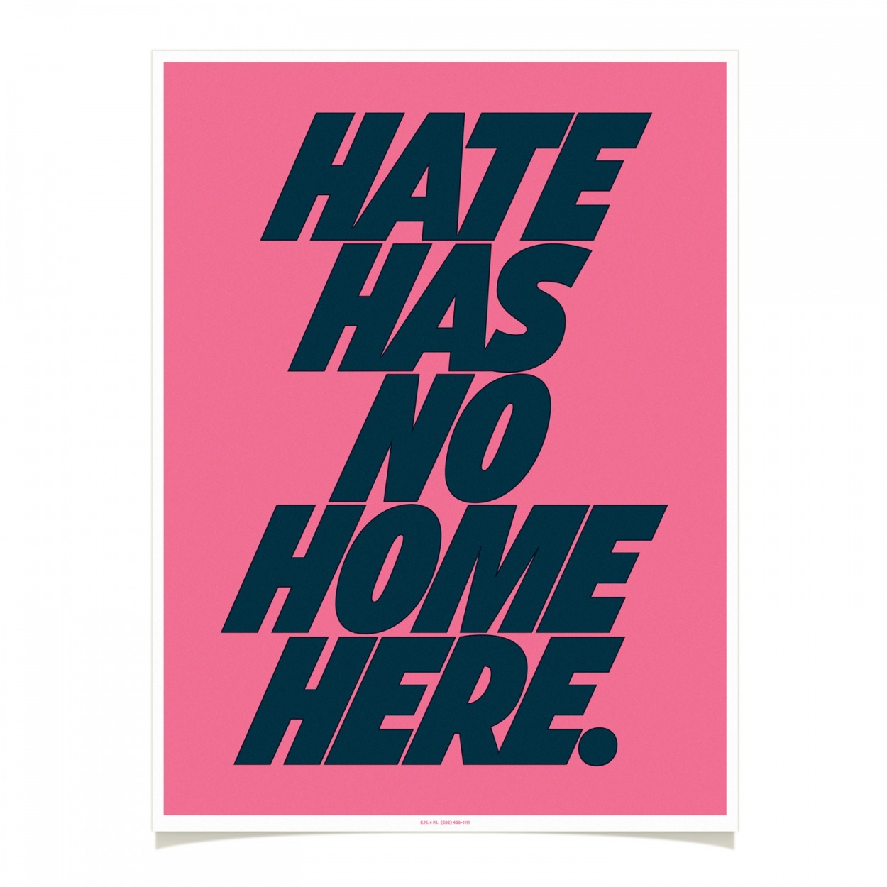 HATE HAS NO HOME HERE    FoT Shop  by  Erik Marinovich