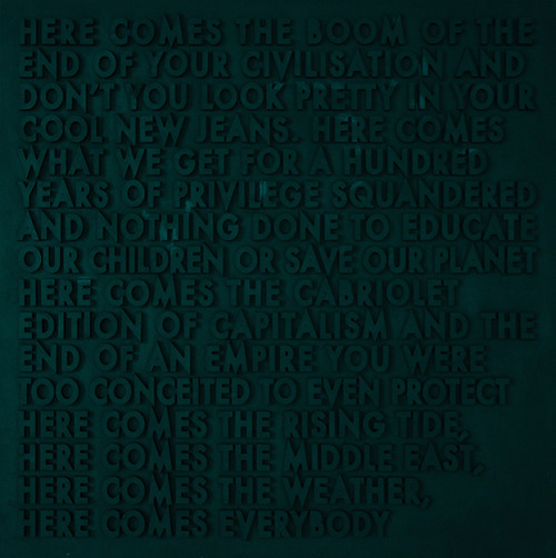 Here comes the boom,   Robert Montgomery