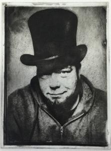 Portrait by  Greg Banks  Copper Plate Photogravure