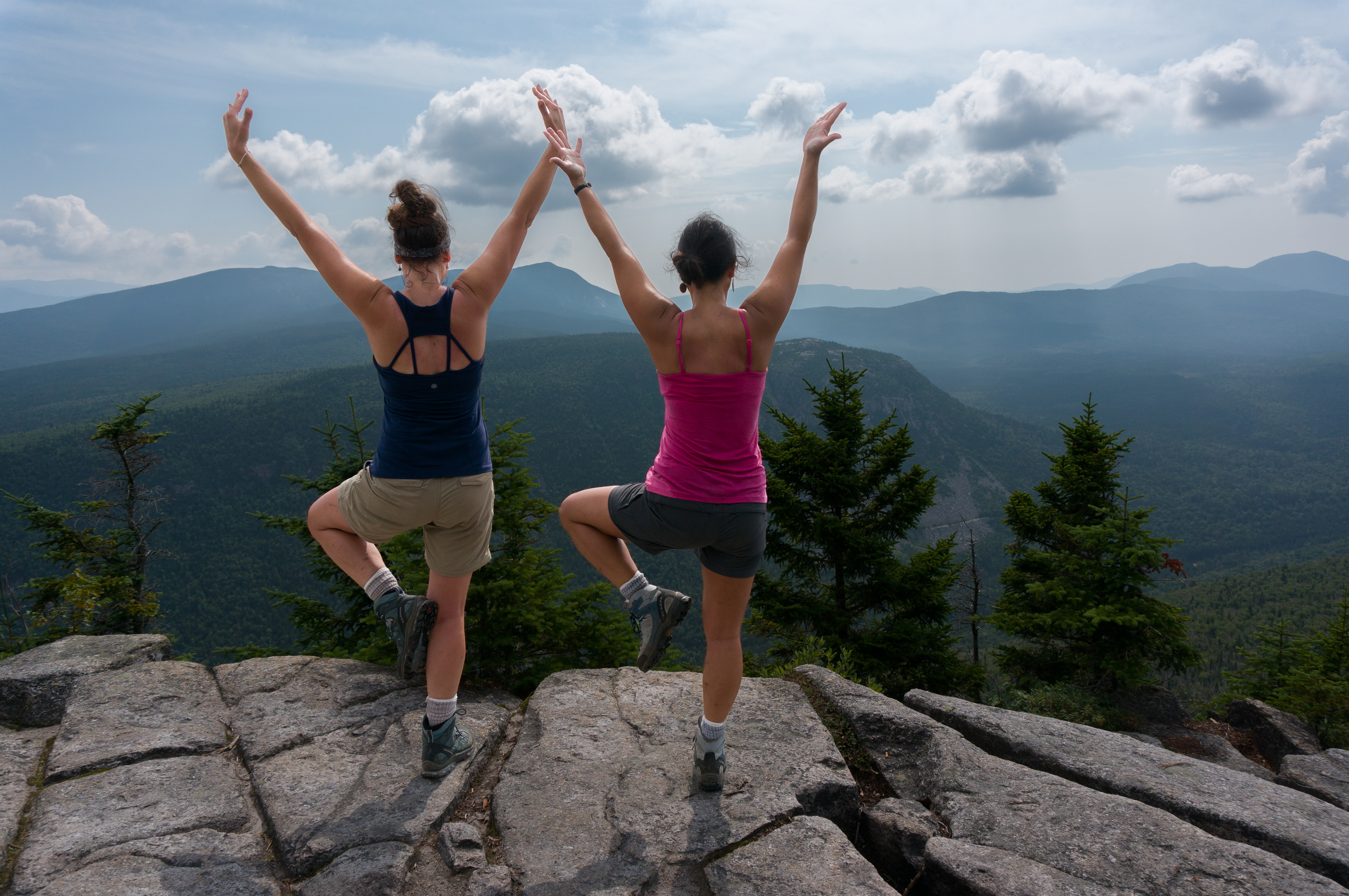 The world's best place for yoga is on a mountain