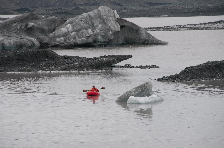 Return Trip, Malaspina Glacier, AK