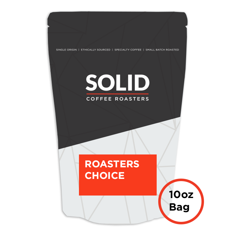 Image of Roaster's Choice 10oz Bag of Coffee from Solid Coffee