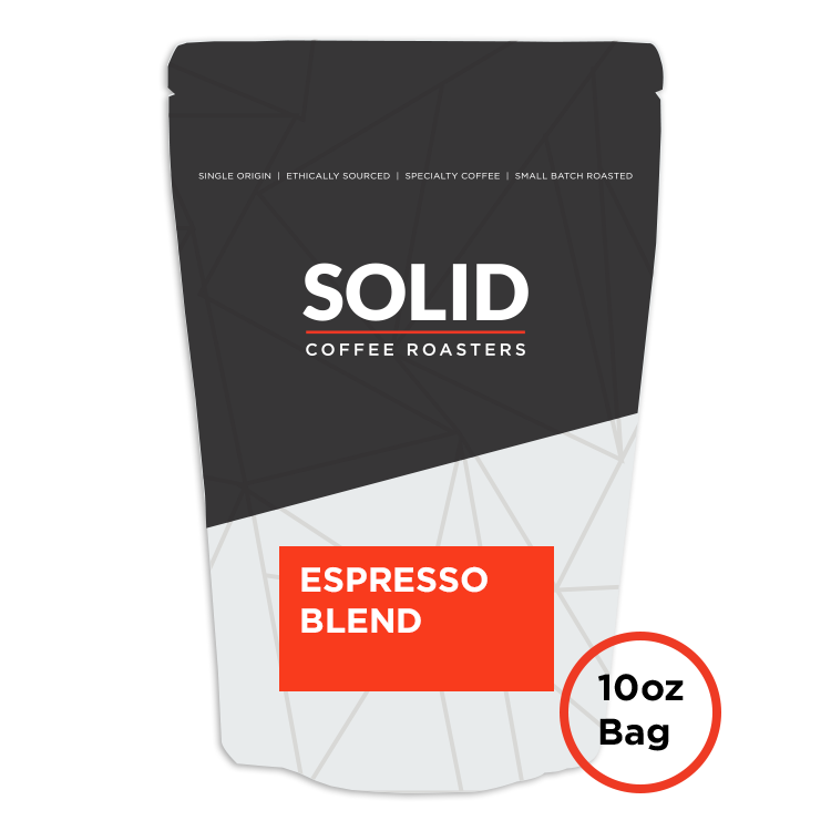 Image of Espresso Blend 10oz Bag of Coffee from Solid Coffee