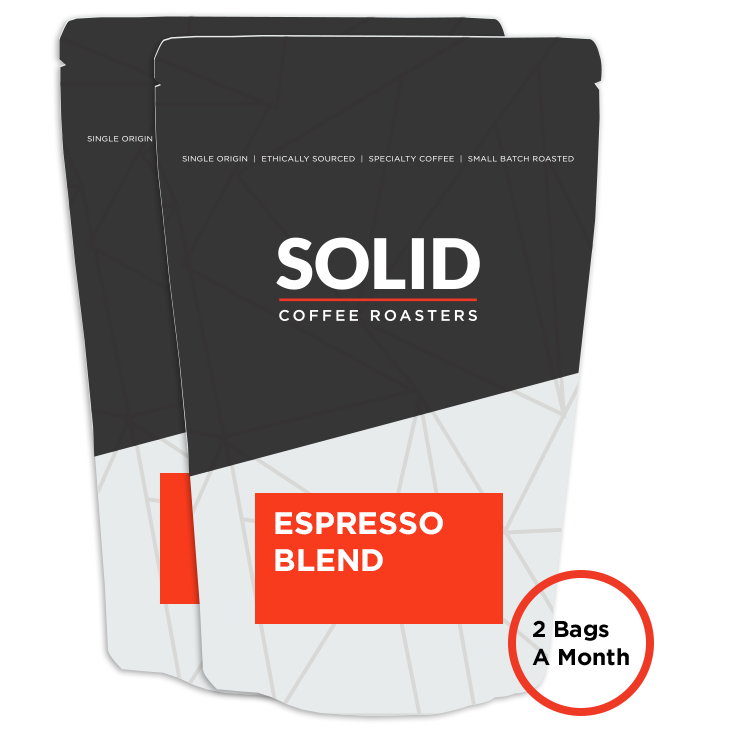 Image of 2 Espresso Blend 10oz Bag of Coffee from Solid Coffee
